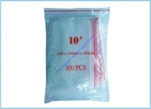 Túi zipper số 10: 24x34cm