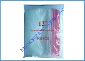 Túi zipper số  12: 34x45cm