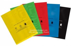 Túi nilon có màu sắc đa dạng