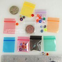 Túi zipper màu sắc đa dạng