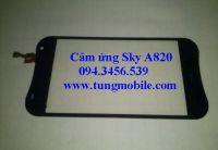 Cảm ứng SKy A820L, Touch SKy A820,