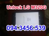 Unlock LG M320G lấy ngay, mở mạng LG M320G lấy ngay, up rom lg M320G, up firmware LG M320G, unbrick