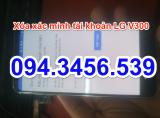 Xóa xác minh tài khoản của bạn LG v300s, unlock lg v300s