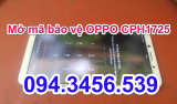 Up rom OPPO CPH1725, chạy phần mềm oppo cph1725, up firmware oppo CPH1725, mở mã bảo vệ oppo CPH1725