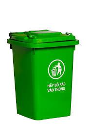 Thùng rác xanh cơ bản