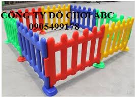 Nhà banh và hàng rào  mầm non
