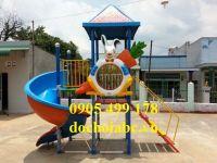 Cầu trượt mầm non cho trẻ giá rẻ tại bình định