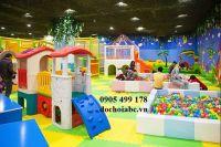 Nhận lắp đặt đầu tư thi công khu vui chơi trẻ em đẹp - rẻ