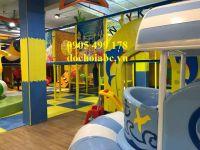 Thiết kế khu vui chơi trẻ em trong nhà và ngoài trời