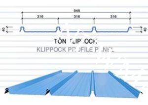 Tôn Cliplock 4 sóng