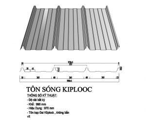 Tôn Cliplock 990/970