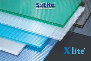 Tấm lợp lấy sáng rỗng ruột Solite và X-Lite