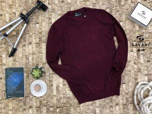 Áo len đỏ
