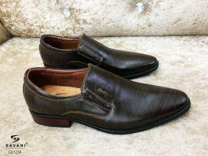 Giày nâu kẻ đen ht SDROLUN