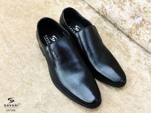 Giày đen kẻ đen ht SDROLUN