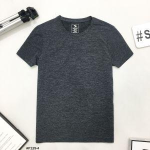 Áo T-Shirt đen nhạt gân nổi