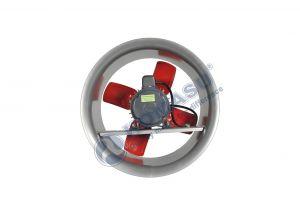 Quạt thông gió  công nghiệp mô tơ khía KM30-T, KM35-T, KM40-T, KM50-T, KM60-T