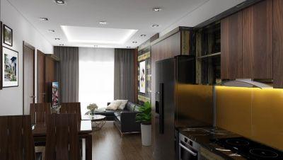 Thiết kế nội thất căn hộ 1819 chung cư Arita
