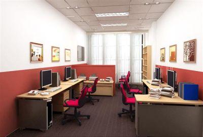 Nội thất phòng nhân viên công ty