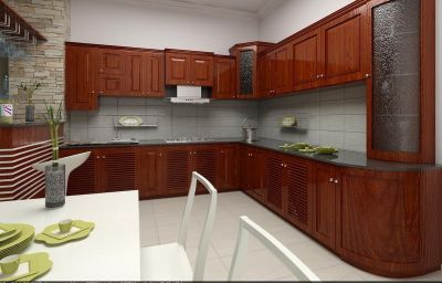 Tủ bếp 001013