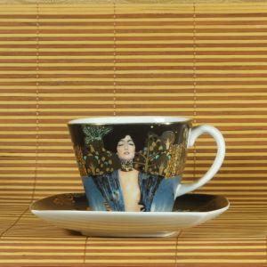 Bộ 01 tách - đĩa Judith1, H10cm