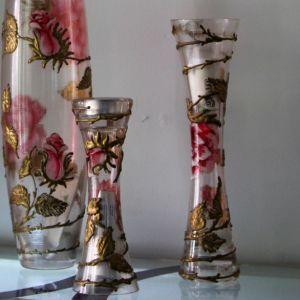Chân nến vẽ tay nghệ thuật Gipar
