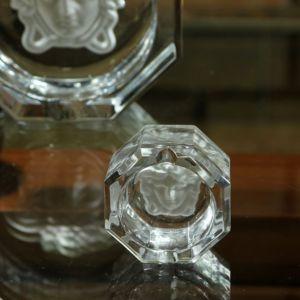 Gạt tàn pha lê Versace, D8cm
