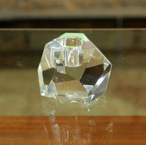 Chân nến pha lê Surface, H6cm