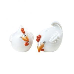 Lọ đựng muối tiêu Con gà, H4,5cm