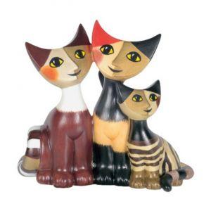 Gia đình Mèo Happy, H8cm