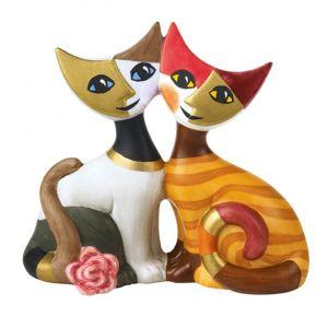 Mèo Gloria & Alberto, H8cm