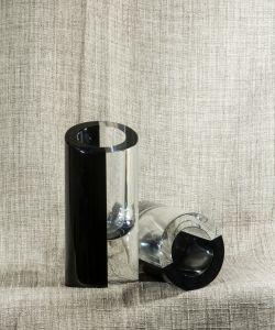Lọ hoa pha lê Blockglas, H17cm