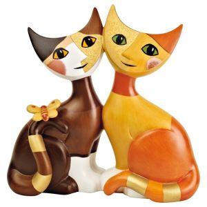 Mèo Patrizio & Norina, H15cm