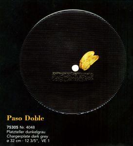 Đĩa Paso Doble xám đậm, D32cm