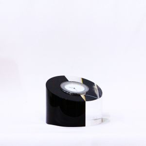 Đồng hồ pha lê Blockglas, D9,5cm
