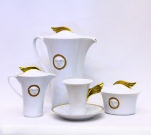 Bộ cà phê Versace Meandre d'or
