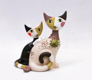 Mèo Luana & Emanuele, H17cm