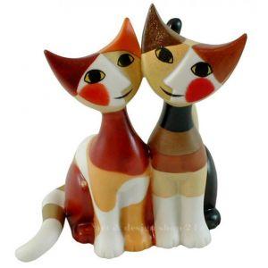 Mèo Micio & Micia, H9cm