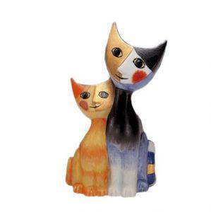 Mèo Sarafino & Serafina, H7,5cm