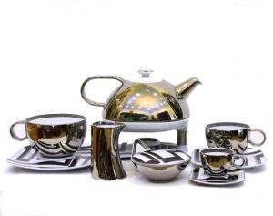 Bộ trà - cà phê Versace Dedalo (mạ Platin)
