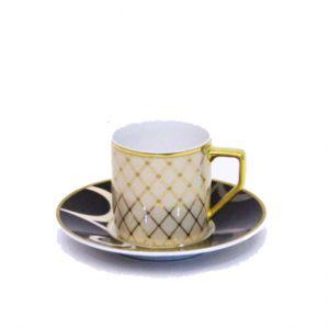 Bộ 6 đĩa, tách Espresso Francis, 0,07l