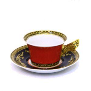 Bộ 6 đĩa, tách Trà Versace Medusa, 0,22l