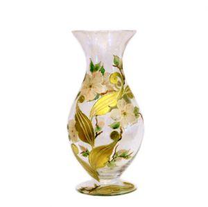 Lọ hoa vẽ tay nghệ thuật Gipar