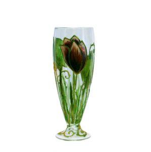 Lọ hoa vẽ tay nghệ thuật Gipar, H42cm