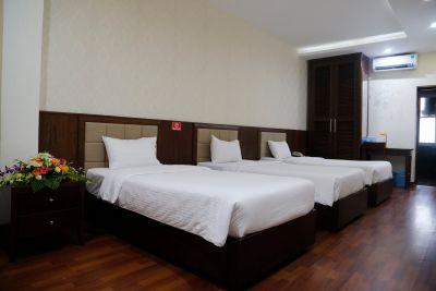 Phòng tiêu chuẩn 3 giường đơn