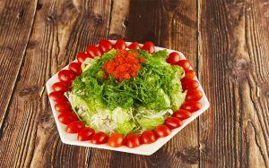 Salat rong biển trứng cua