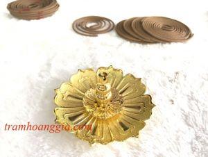 Lư Hoa Sen Mầu Vàng MSP:LS320