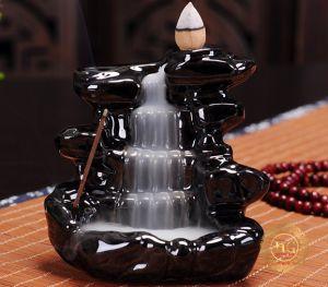 Thác Khói Trầm Hương Phong Cảnh Thiên Nhiên