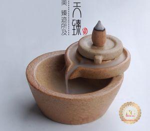 Thác Khói Trầm Hương Gốm Cao Cấp Phong Cách Nhật Bản