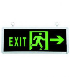 Đèn EXIT chỉ hướng 2 mặt